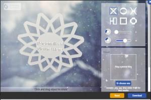 Dremel's snowflake design tool.